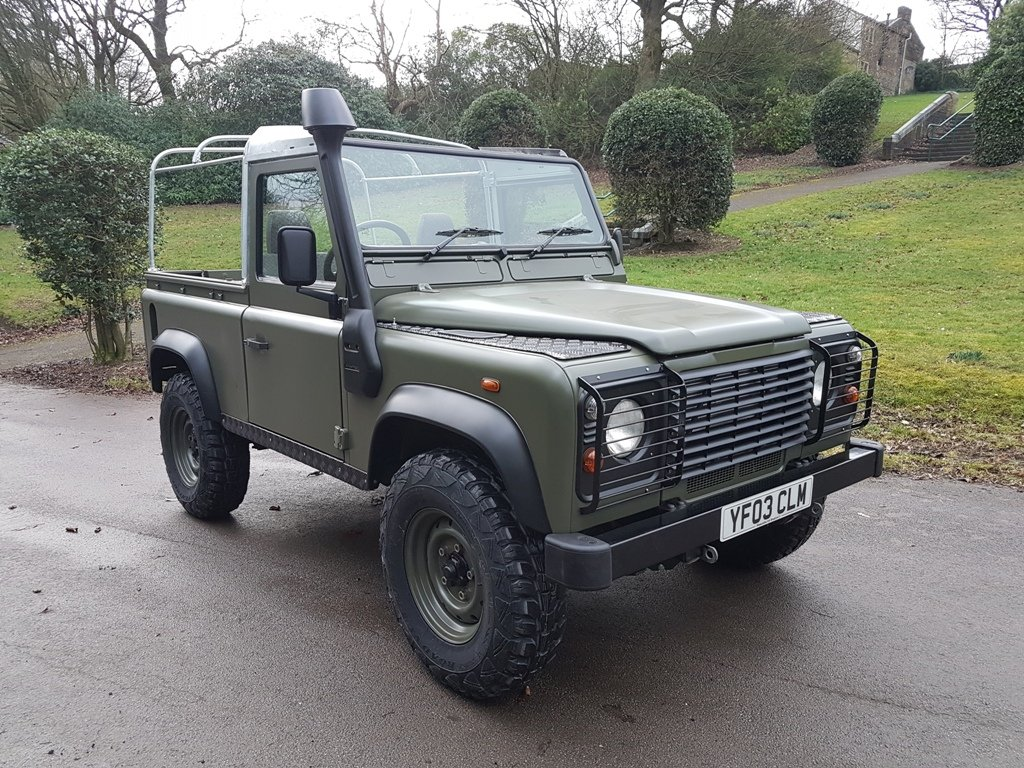 2003 LAND ROVER DEFENDER 90 TD5 For Sale (picture 1 of 6)