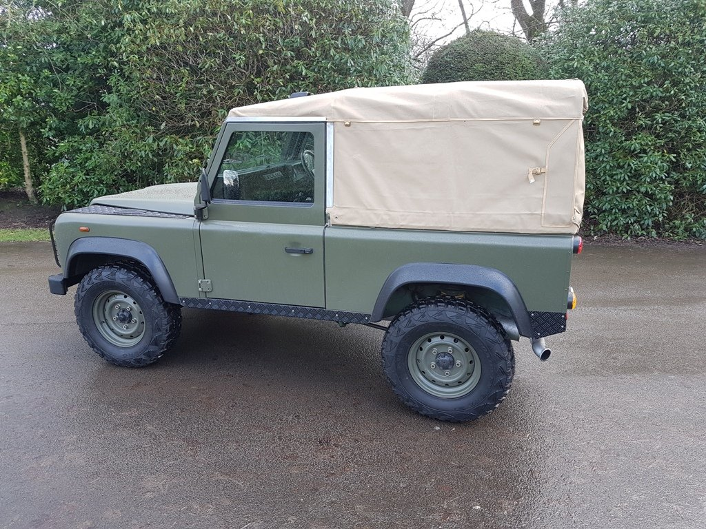 2003 LAND ROVER DEFENDER 90 TD5 For Sale (picture 4 of 6)