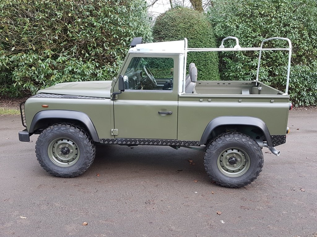 2003 LAND ROVER DEFENDER 90 TD5 For Sale (picture 5 of 6)