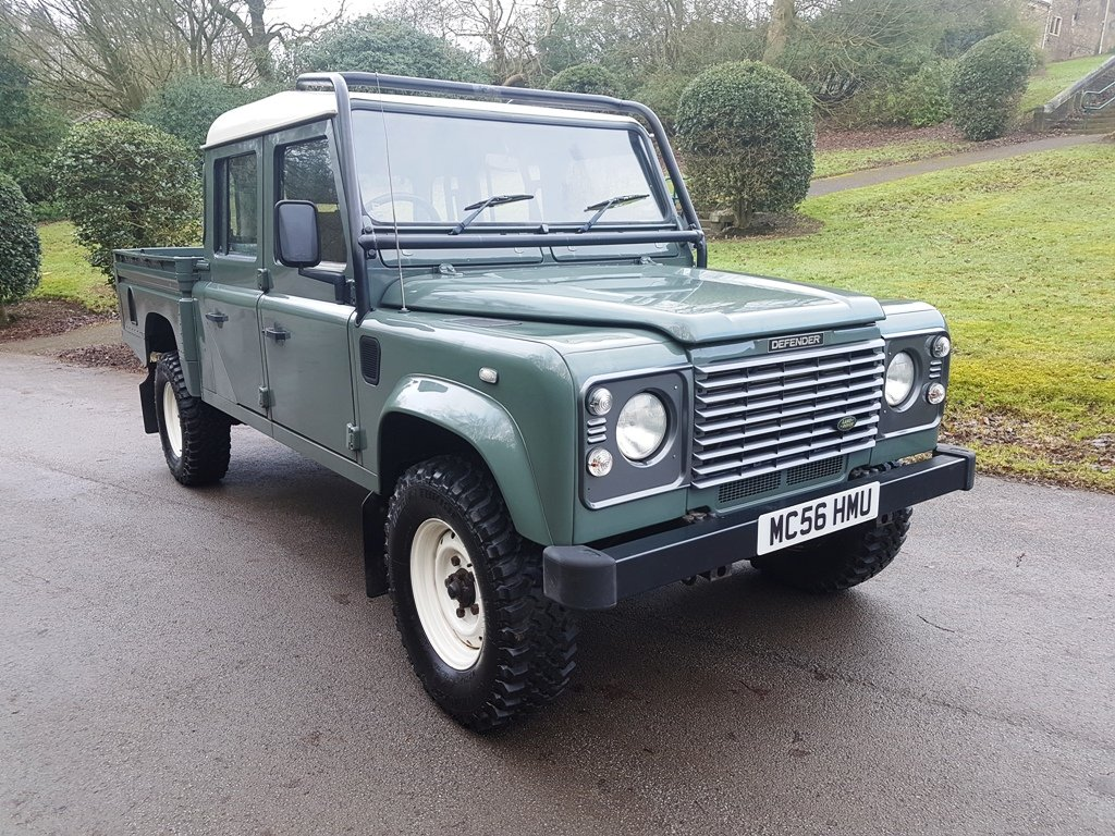 2006 LAND ROVER TD5 DEFENDER 130 DOUBLE CAB For Sale (picture 1 of 6)