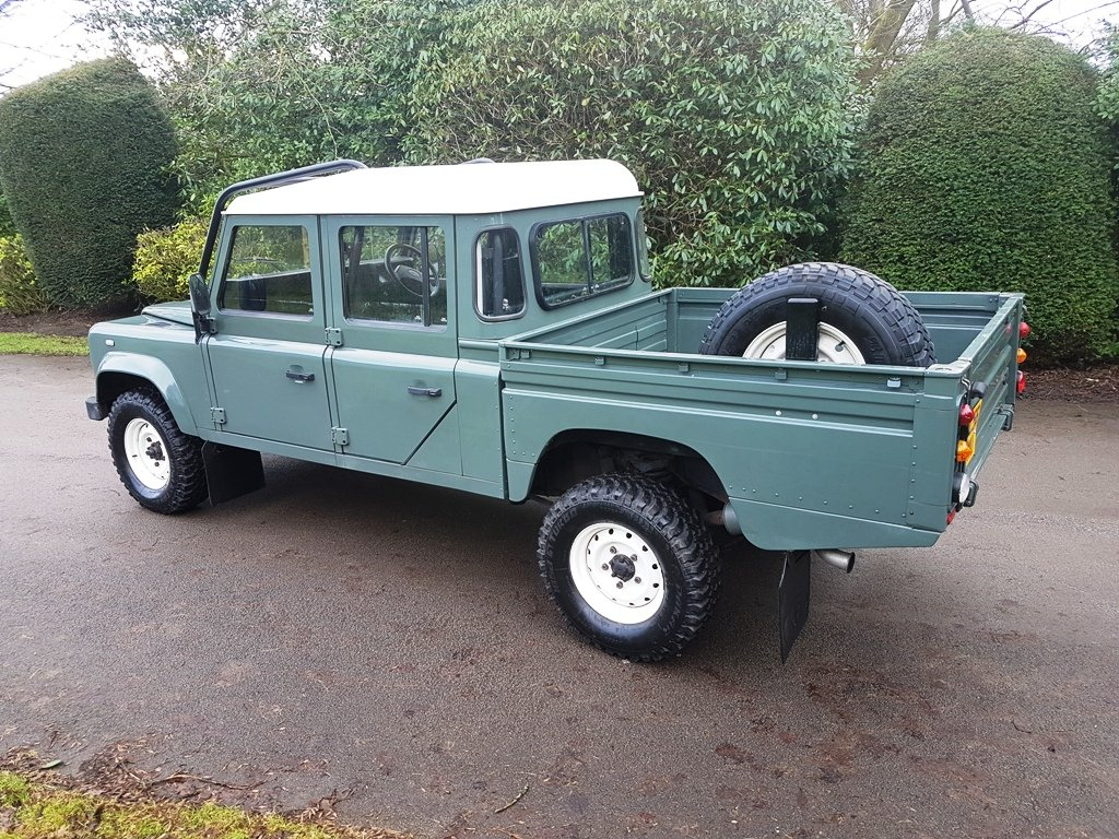 2006 LAND ROVER TD5 DEFENDER 130 DOUBLE CAB For Sale (picture 2 of 6)