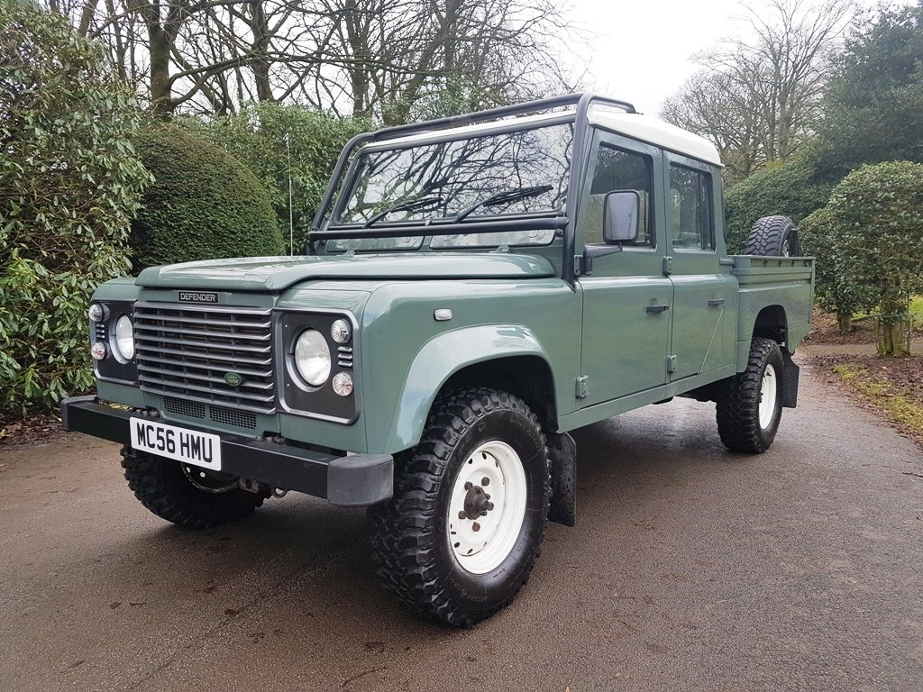 2006 LAND ROVER TD5 DEFENDER 130 DOUBLE CAB For Sale (picture 3 of 6)
