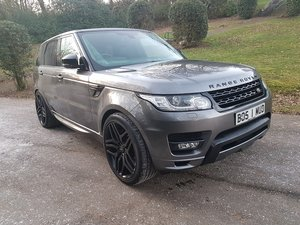 2015 RANGE ROVER SPORT SDV8 AUTOBIOGRAPHY For Sale