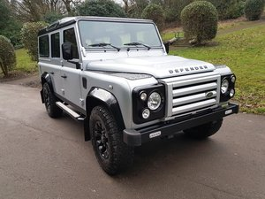 2010 LAND ROVER DEFENDER LHD 110 TDCI COUNTY STATION WAGON