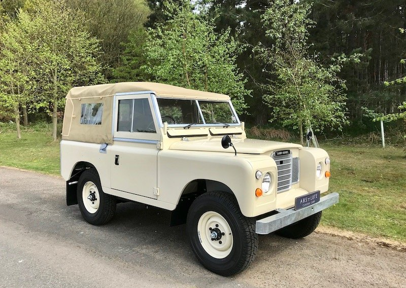 1973 Land Rover Series 3 88 Soft Top, New / Concours - THE BEST! SOLD (picture 1 of 6)