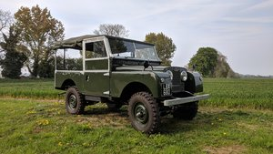 "Series 1 1955 86"" Petrol, FULLY RESTORED.Matching For Sale"