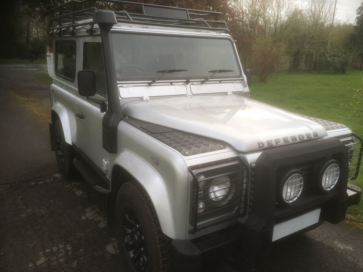 2005 Land Rover Defender 90 XS Factory Station Wagon SOLD (picture 1 of 6)