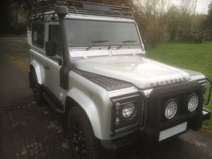 2005 Land Rover Defender 90 XS Factory Station Wagon SOLD