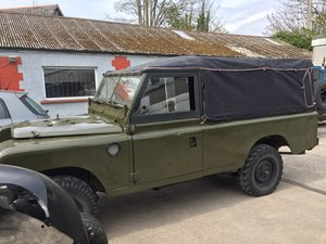 1980 Landrover series 3 109 x army Ffr x paras classic