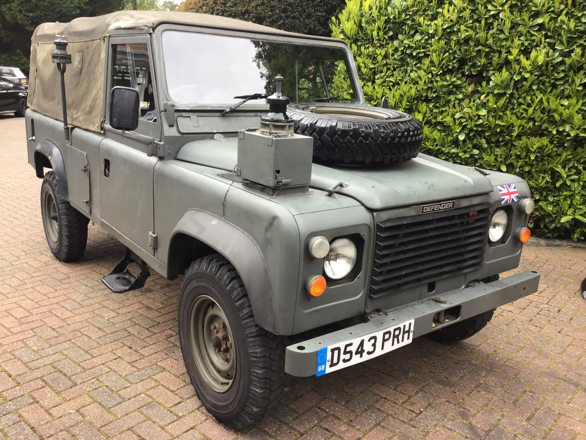 1987 Land Rover Defender Light 4x4 For Sale (picture 1 of 6)