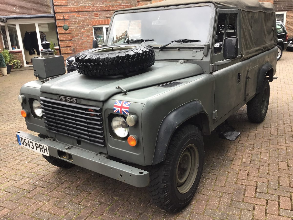 1987 Land Rover Defender Light 4x4 For Sale (picture 4 of 6)