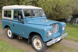 1984 Land Rover Series III petrol For Sale
