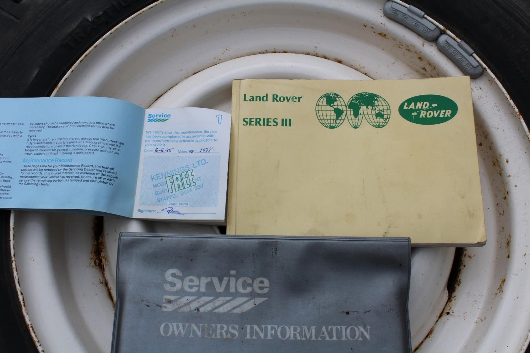 1984 Land Rover Series III petrol For Sale (picture 6 of 6)