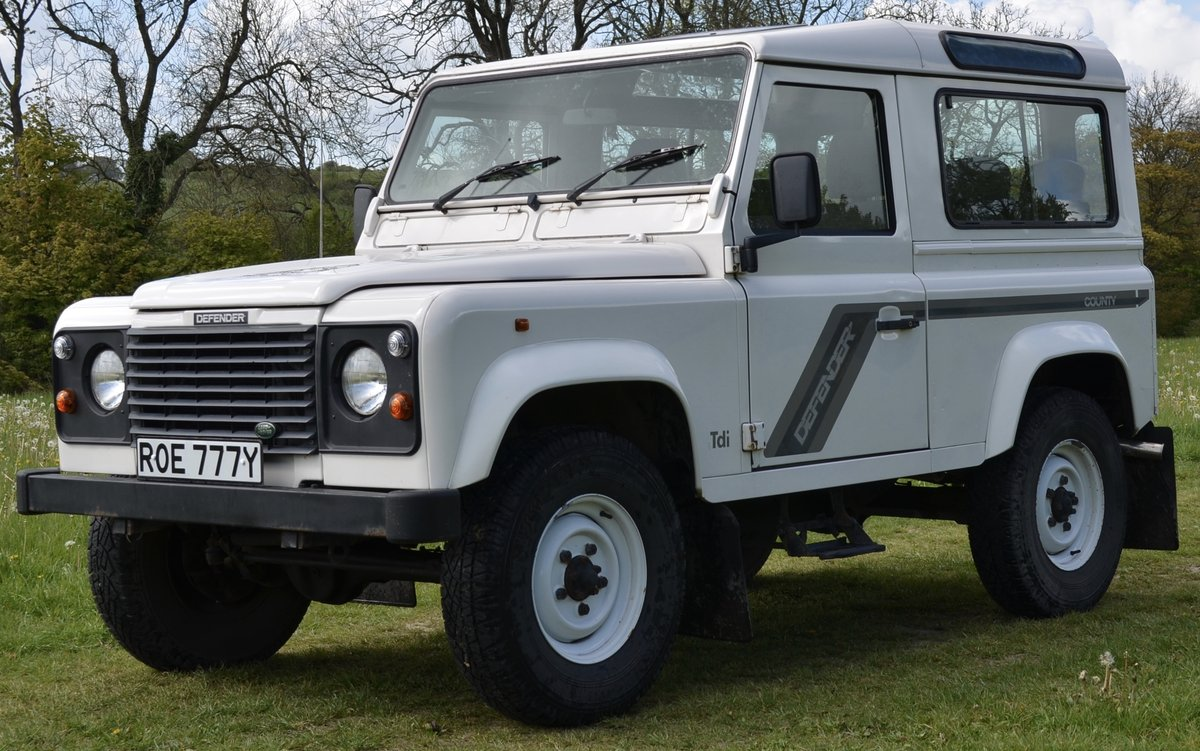 1996 Land Rover Defender 300Tdi County Station Wagon SOLD (picture 1 of 6)