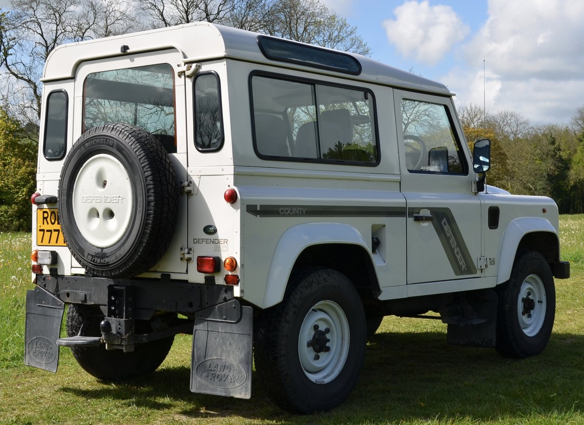 1996 Land Rover Defender 300Tdi County Station Wagon SOLD (picture 2 of 6)