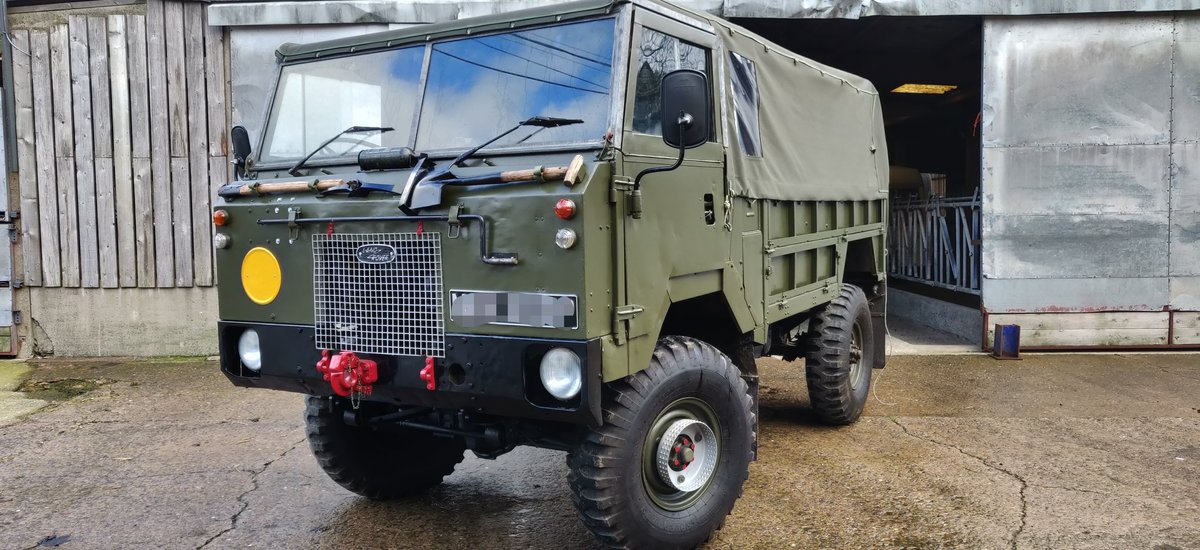1976 Land Rover 101 FC For Sale (picture 1 of 6)