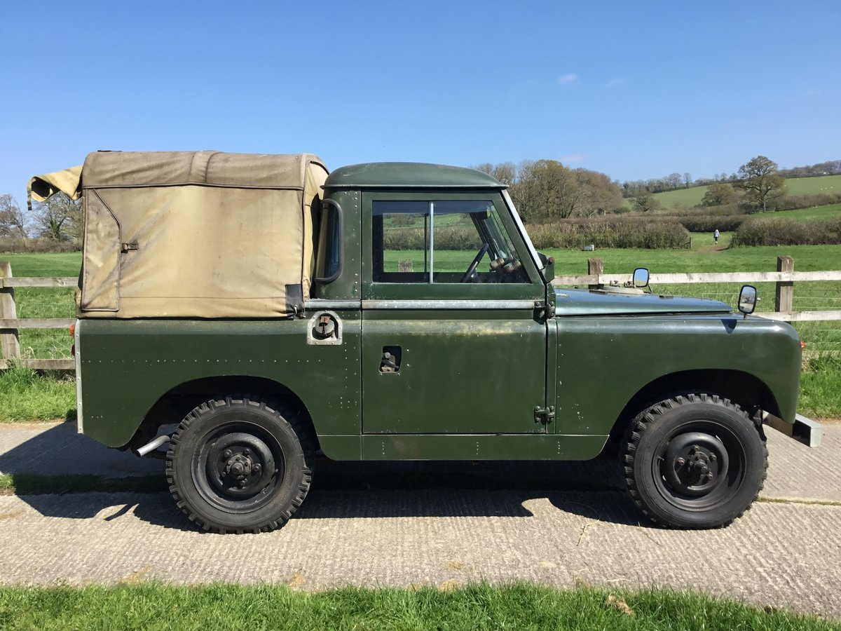 1960 Land Rover S2 Incredible original condition For Sale (picture 1 of 6)