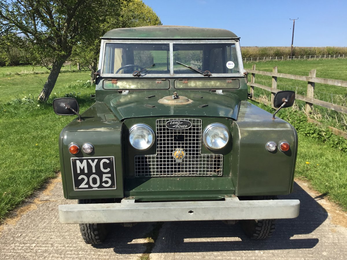 1960 Land Rover S2 Incredible original condition For Sale (picture 2 of 6)