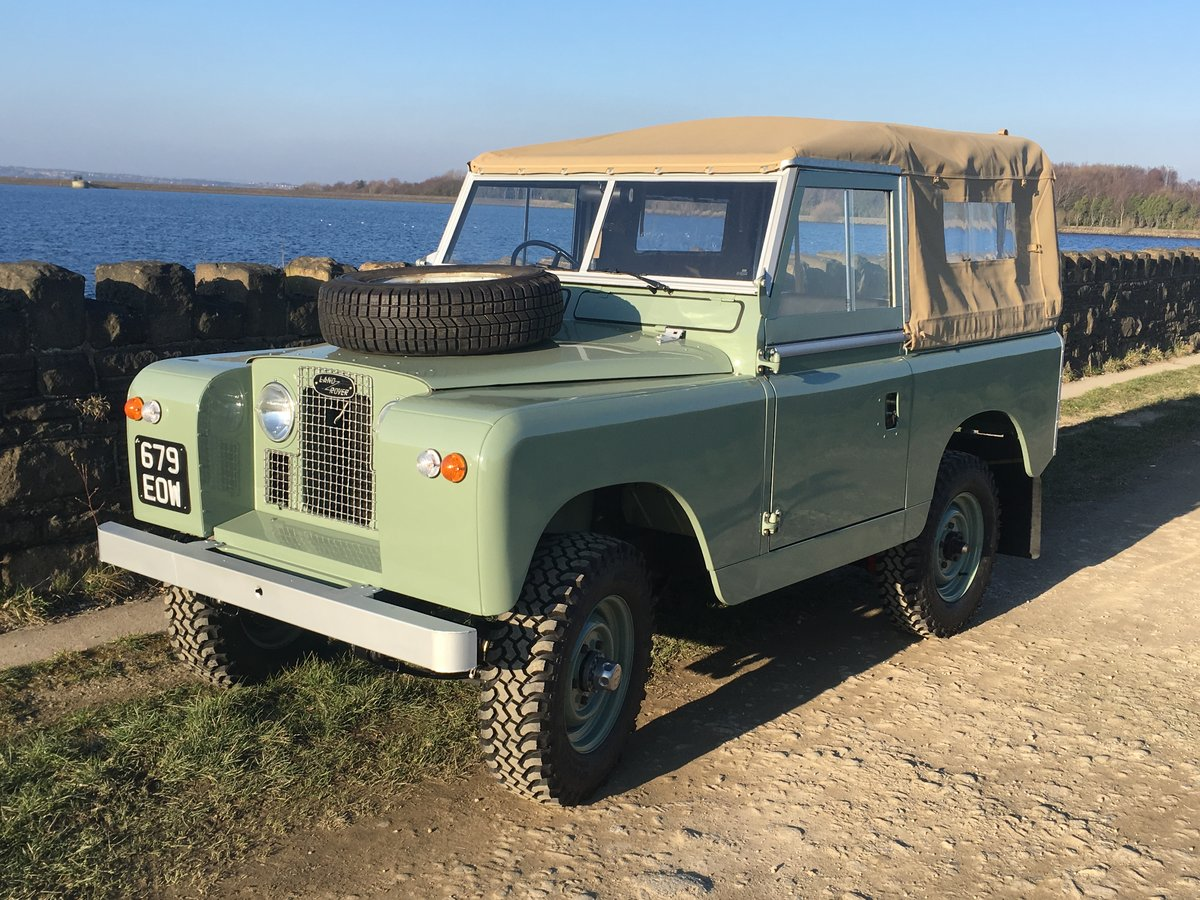 1963 LAND ROVER SERIES IIA – NUT AND BOLT REBUILD – GALV CHASSIS For Sale (picture 1 of 10)