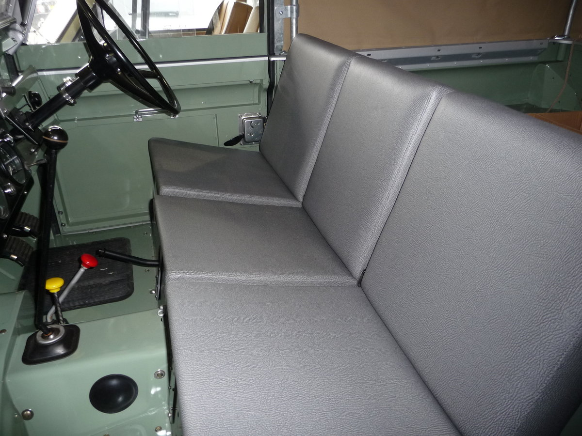 1963 LAND ROVER SERIES IIA – NUT AND BOLT REBUILD – GALV CHASSIS For Sale (picture 3 of 10)