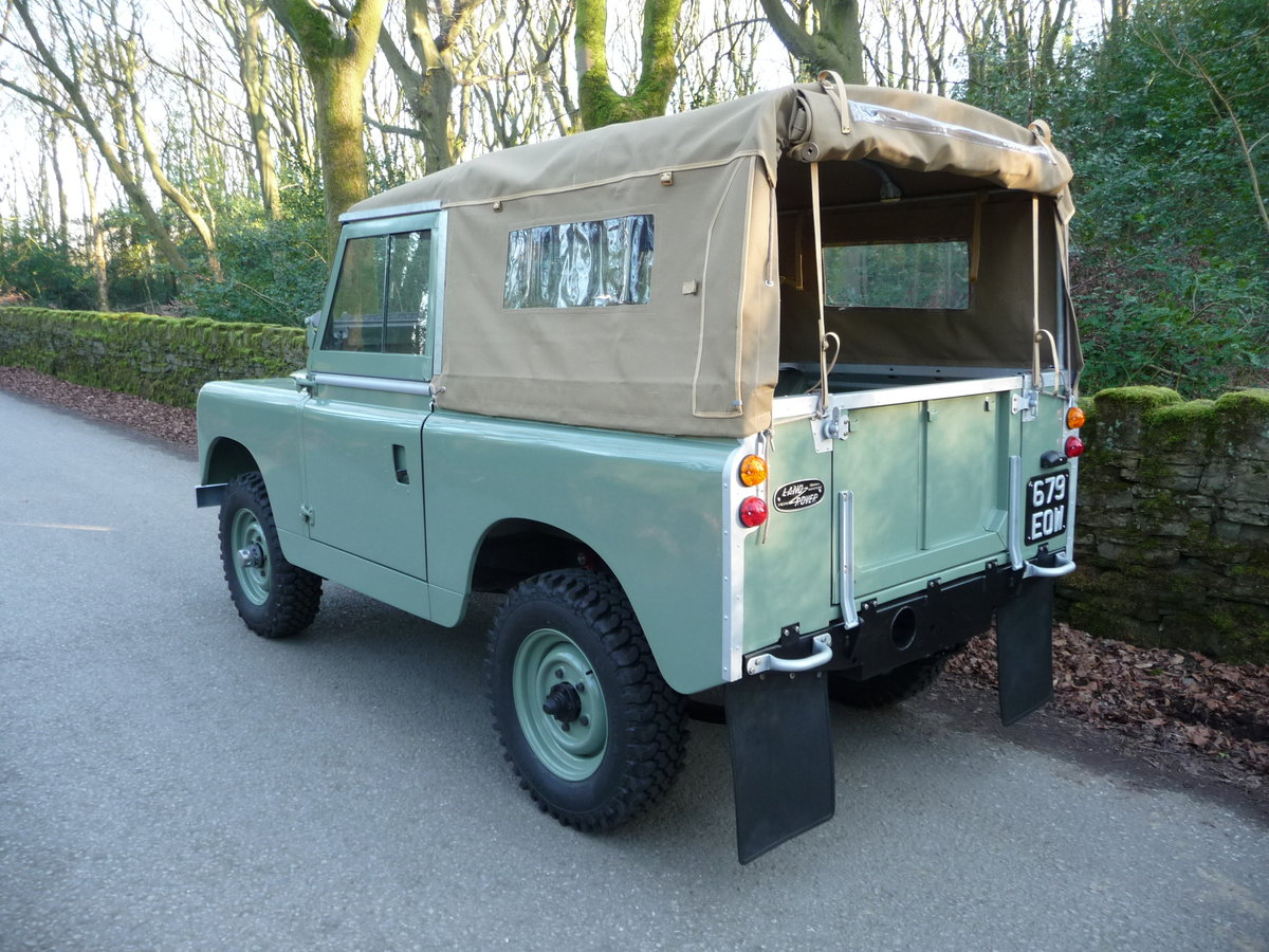 1963 LAND ROVER SERIES IIA – NUT AND BOLT REBUILD – GALV CHASSIS For Sale (picture 5 of 10)