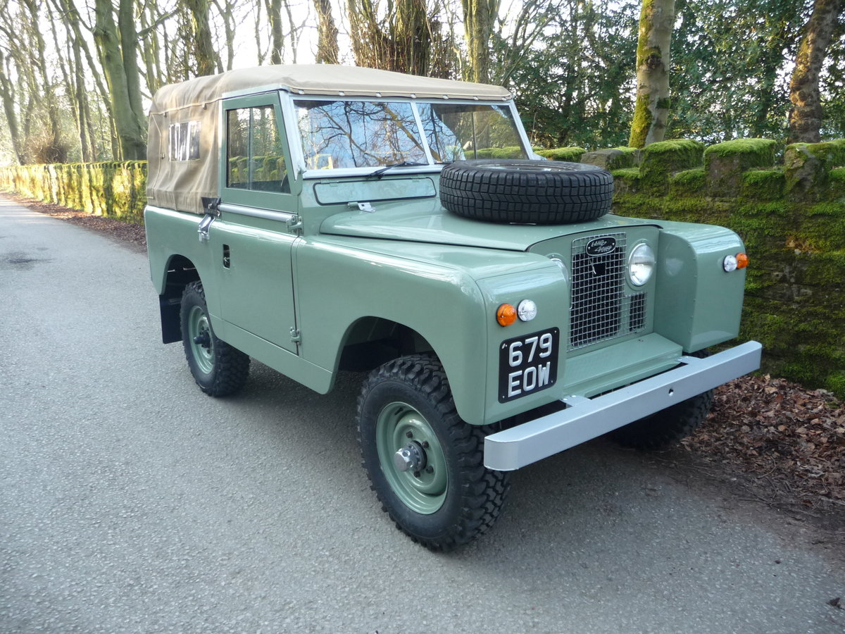 1963 LAND ROVER SERIES IIA – NUT AND BOLT REBUILD – GALV CHASSIS For Sale (picture 6 of 10)