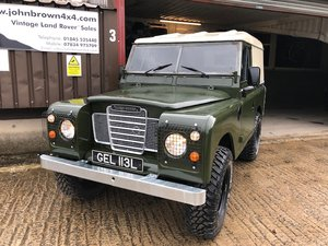1971 Land Rover® Series 3 RESERVED For Sale