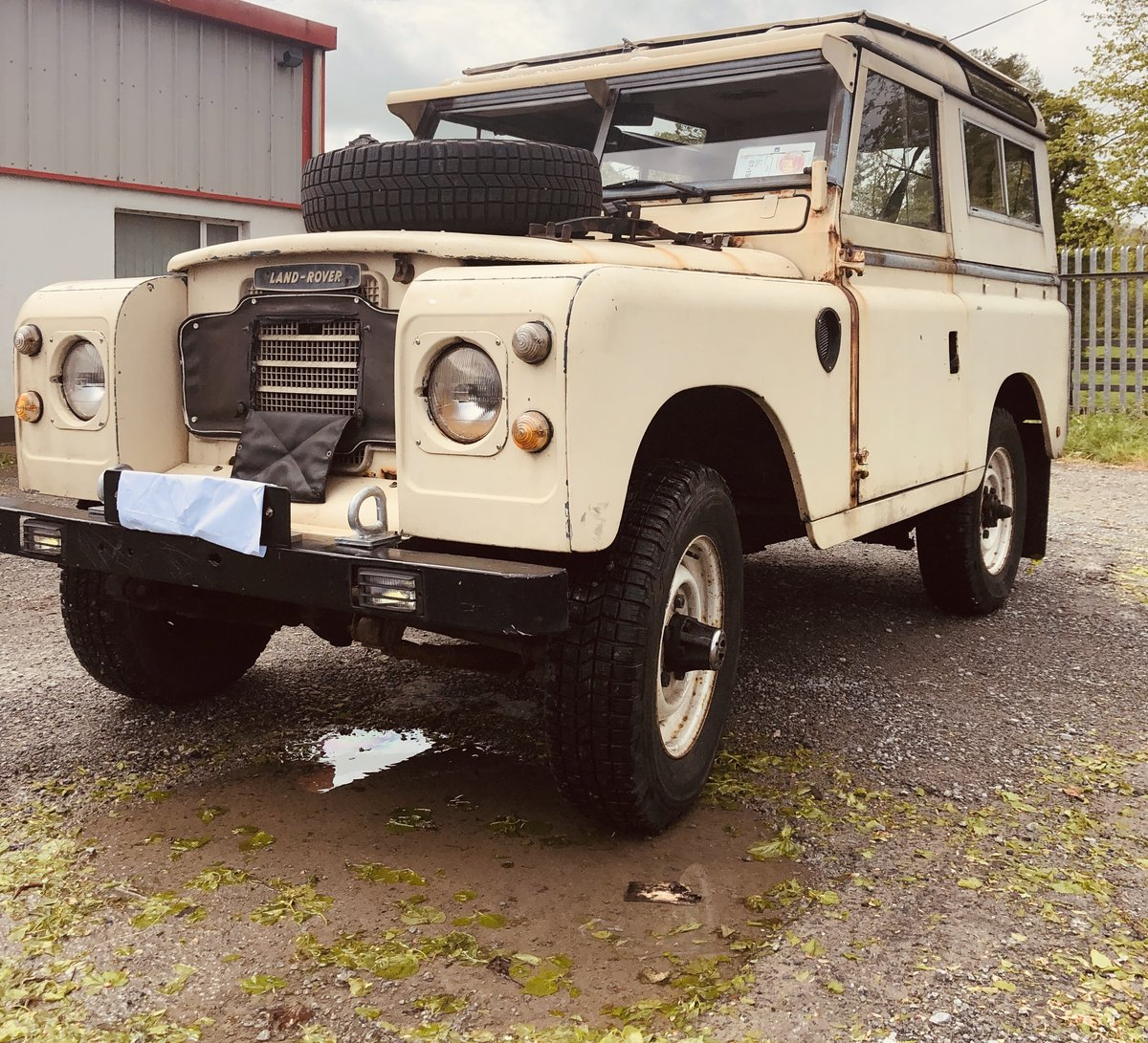 1972 Very Rare Landrover Series 3 For Sale (picture 2 of 6)