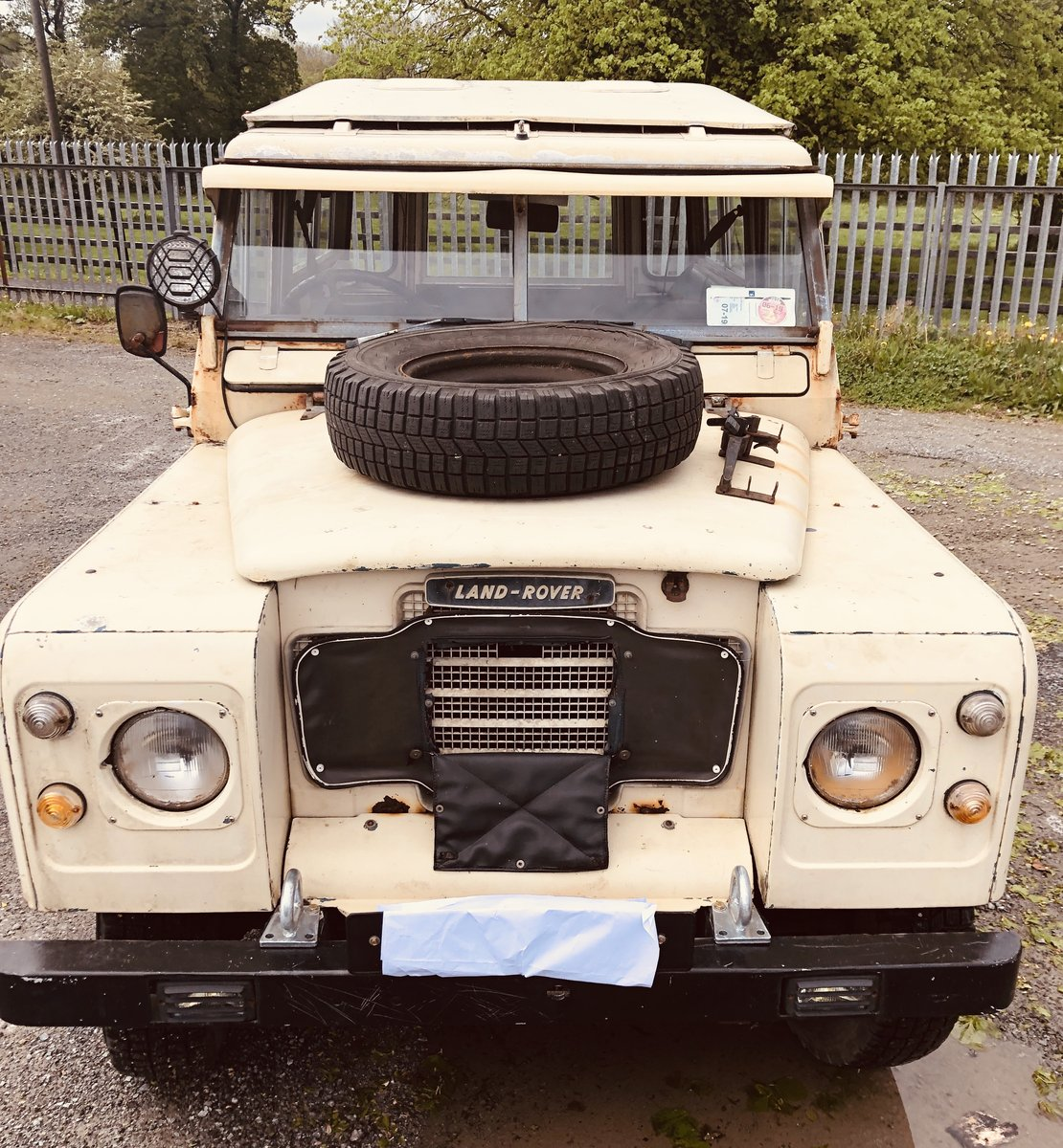 1972 Very Rare Landrover Series 3 For Sale (picture 3 of 6)
