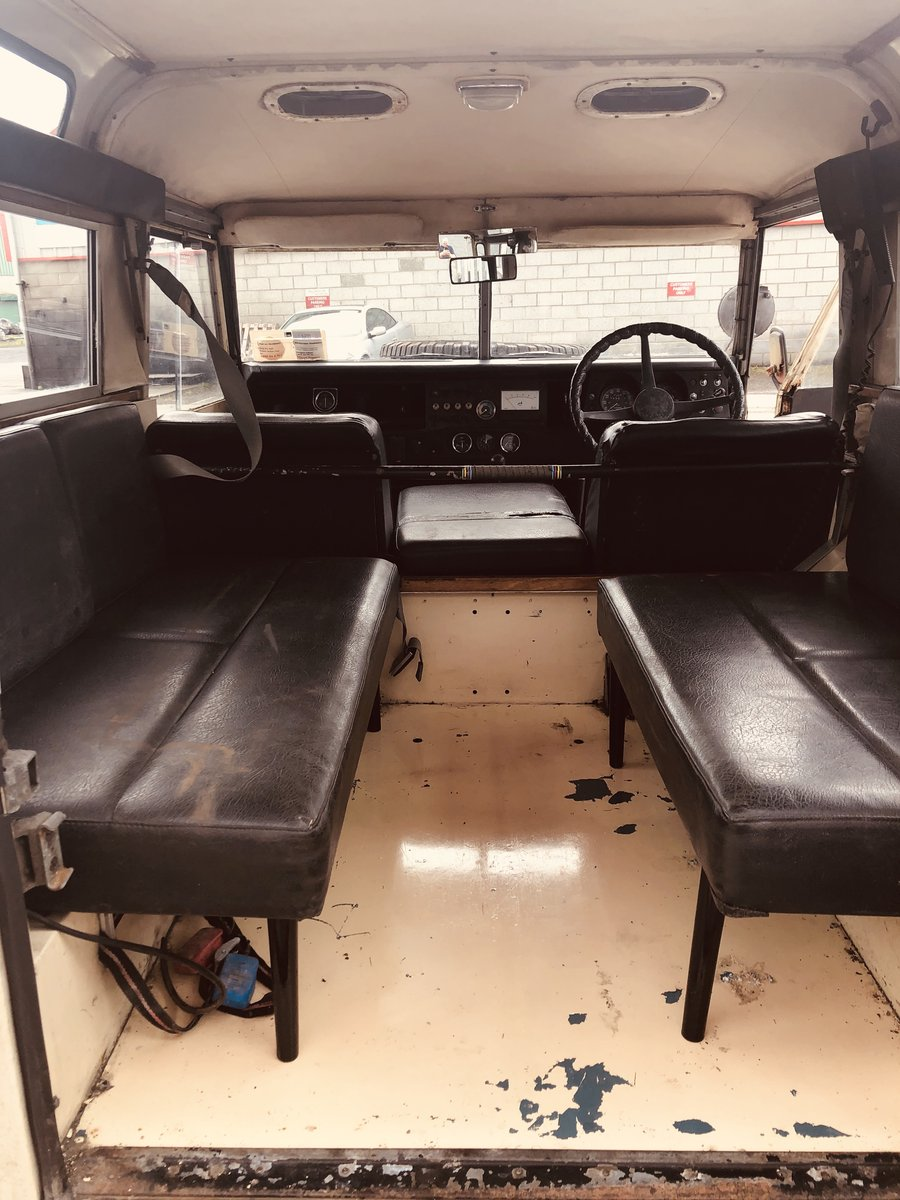 1972 Very Rare Landrover Series 3 For Sale (picture 5 of 6)