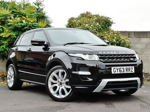 2014 Evoque Dynamic LUX 2.2 SD4 Auto with Pan Roof