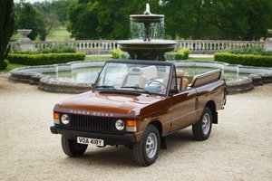 1982 Range Rover Classic 'Octopussy 007' Tribute For Sale