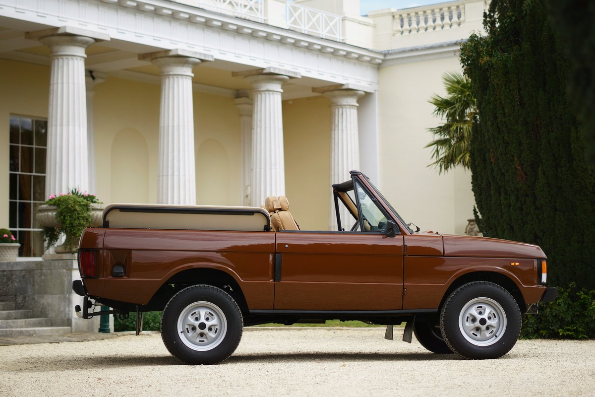1982 Range Rover Classic 'Octopussy 007' Tribute For Sale (picture 2 of 6)