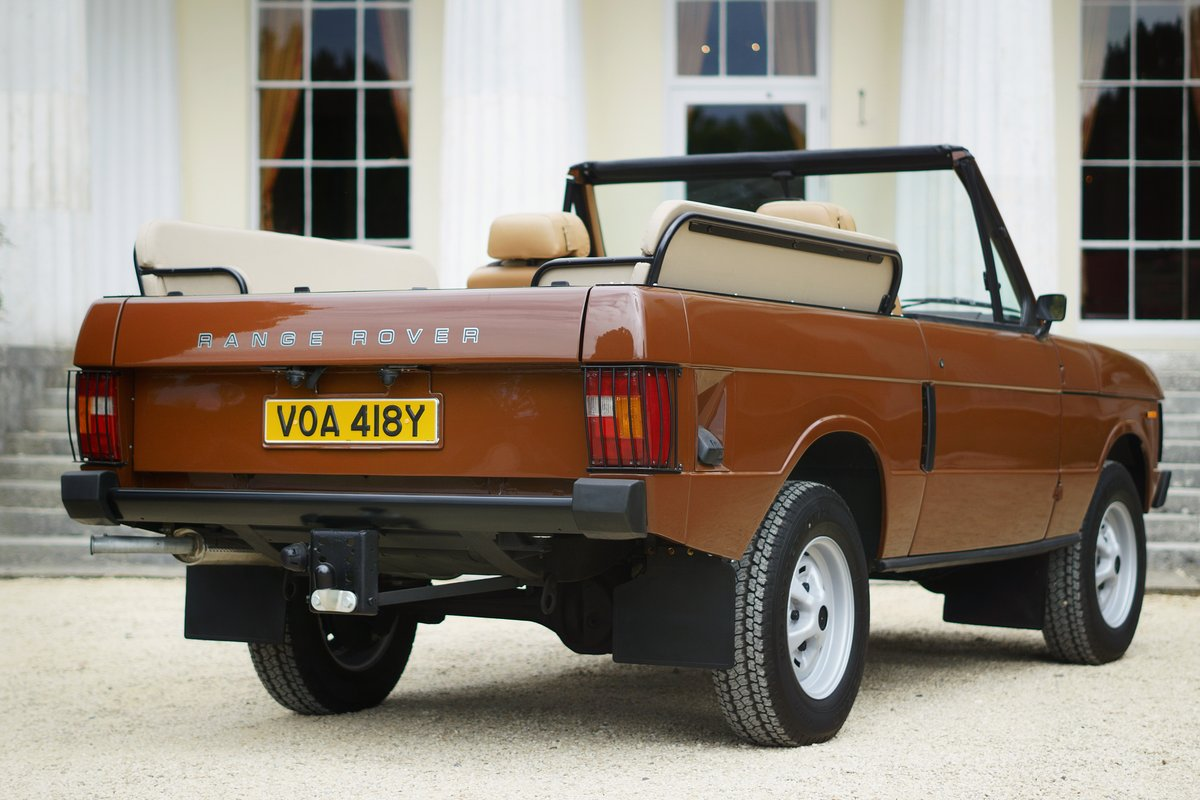 1982 Range Rover Classic 'Octopussy 007' Tribute For Sale (picture 5 of 6)
