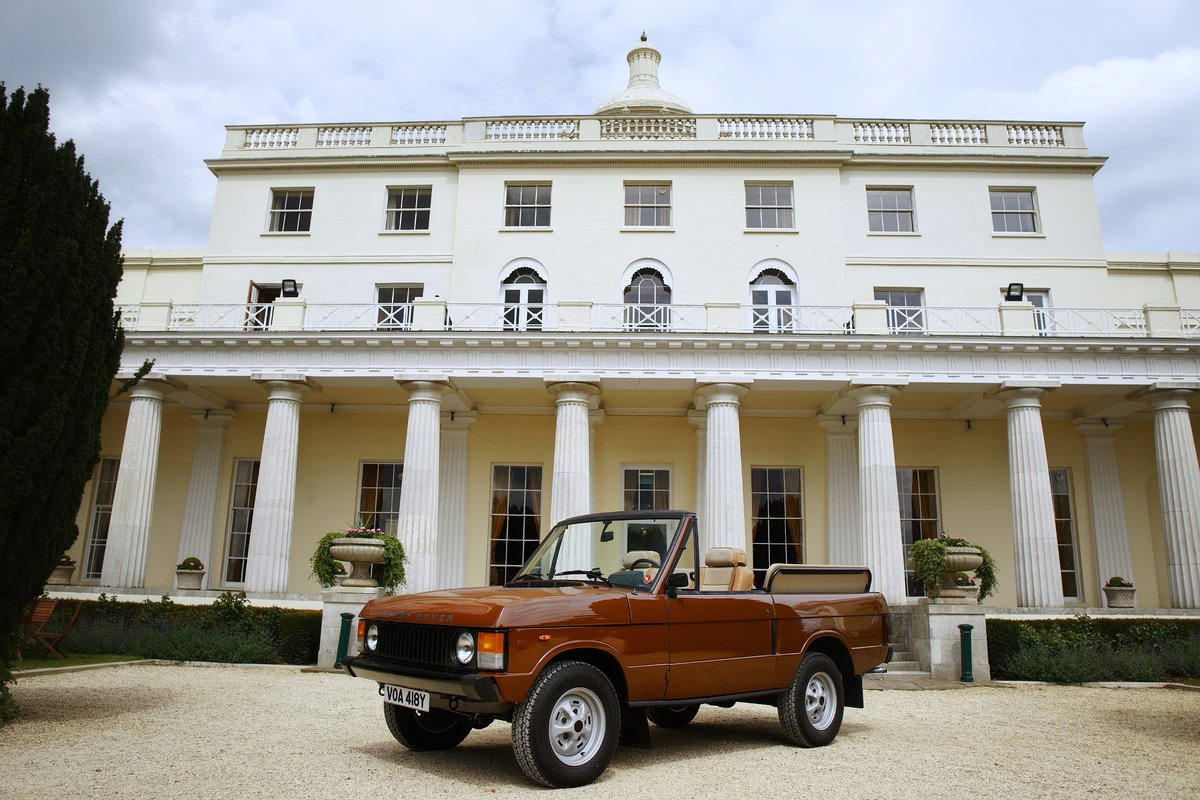 1982 Range Rover Classic 'Octopussy 007' Tribute For Sale (picture 6 of 6)