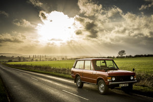 1975 Range Rover 2 Door Masai Red L/H/D For Sale