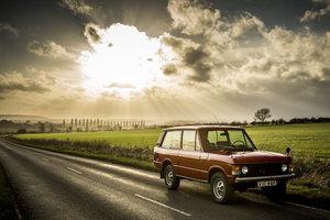 1975 Range Rover 2 Door Masai Red L/H/D SOLD