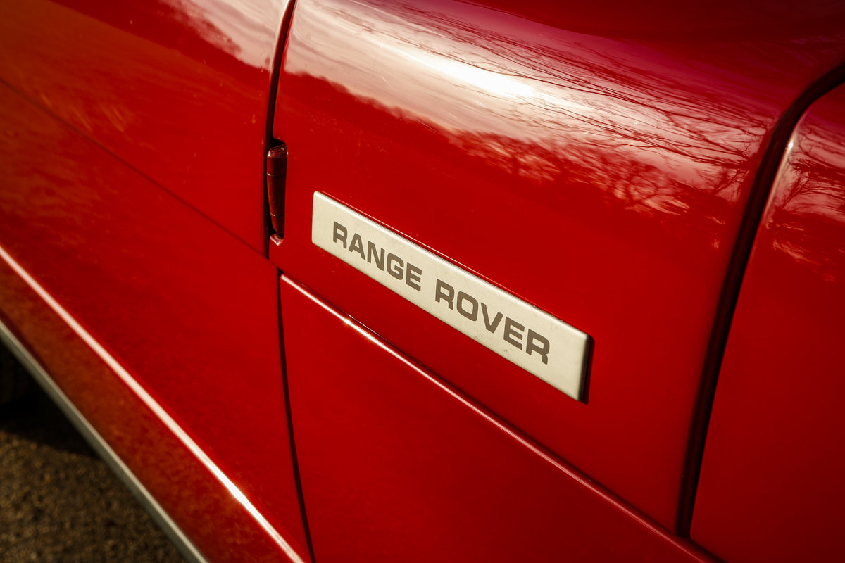 1975 Range Rover 2 Door Masai Red L/H/D SOLD (picture 3 of 3)