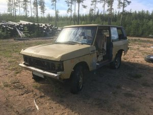 LHD Range Rover Classic, 1972, suffix A For Sale