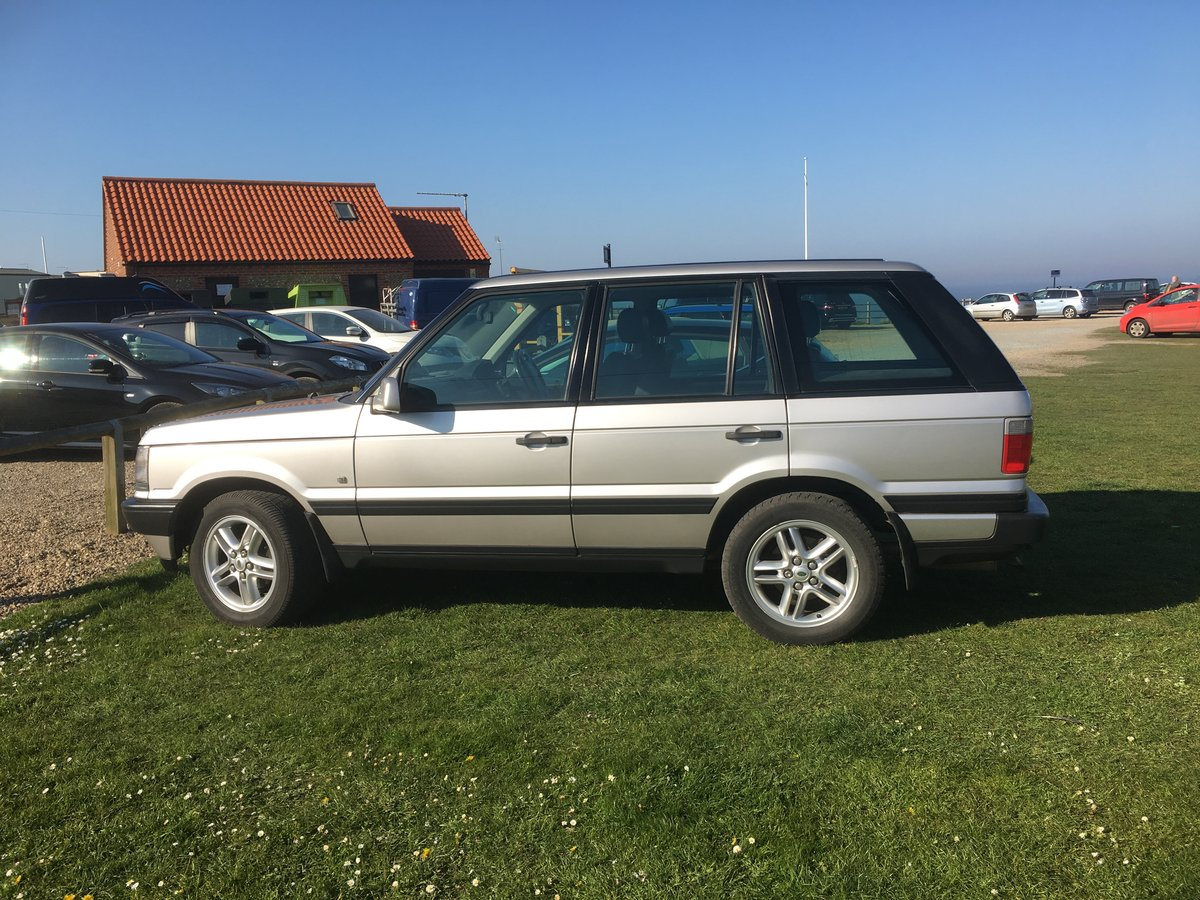 2000 Silver range rover For Sale (picture 1 of 4)