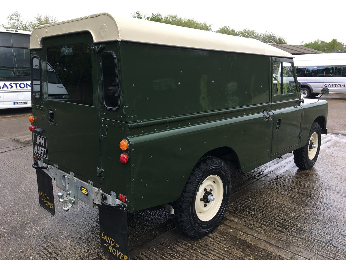 1966 land rover series 2 109 on galvanised chassis only 45000 mls For Sale (picture 3 of 6)