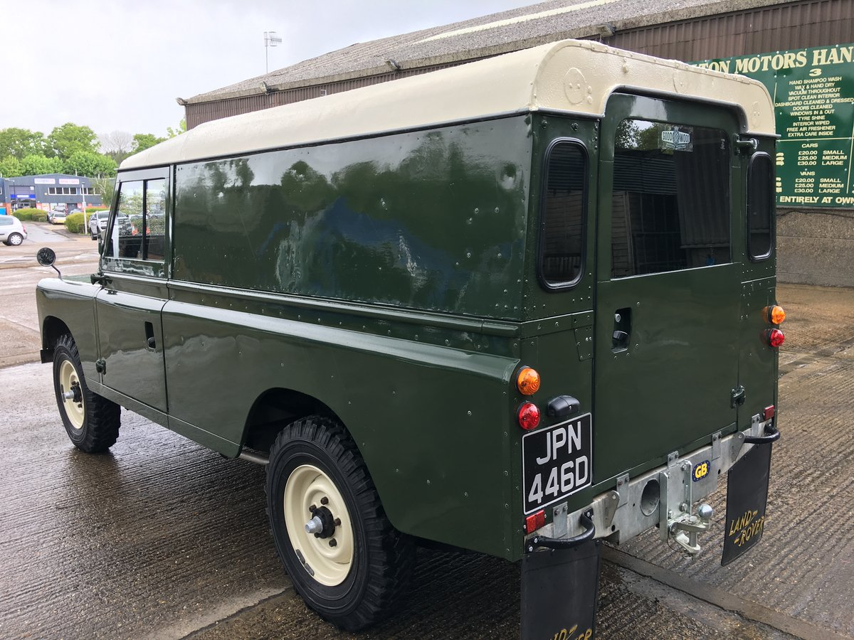 1966 land rover series 2 109 on galvanised chassis only 45000 mls For Sale (picture 4 of 6)
