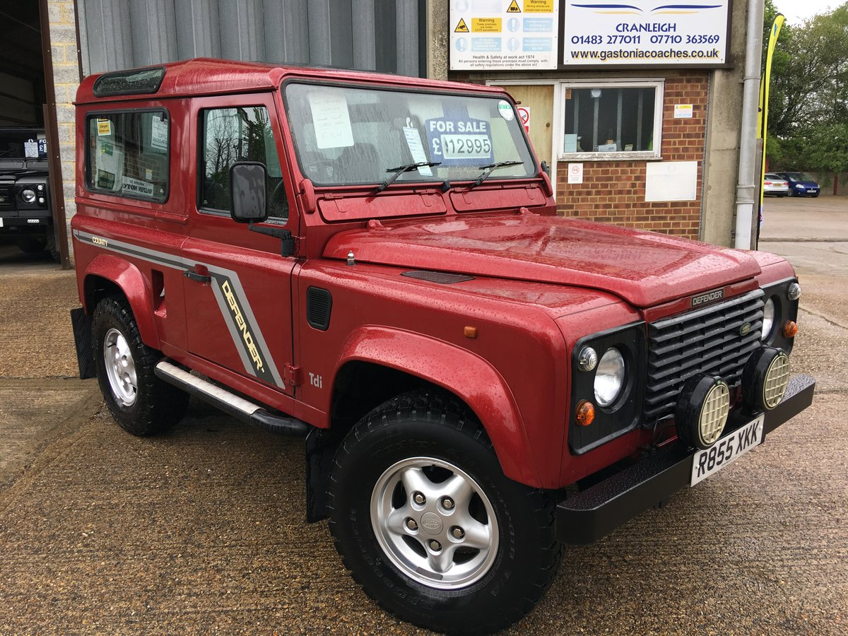 1997 land rover defender 300 tdi CSW GALVANISED CHASSIS For Sale (picture 1 of 6)