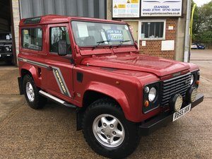 land rover defender 300 tdi CSW GALVANISED CHASSIS