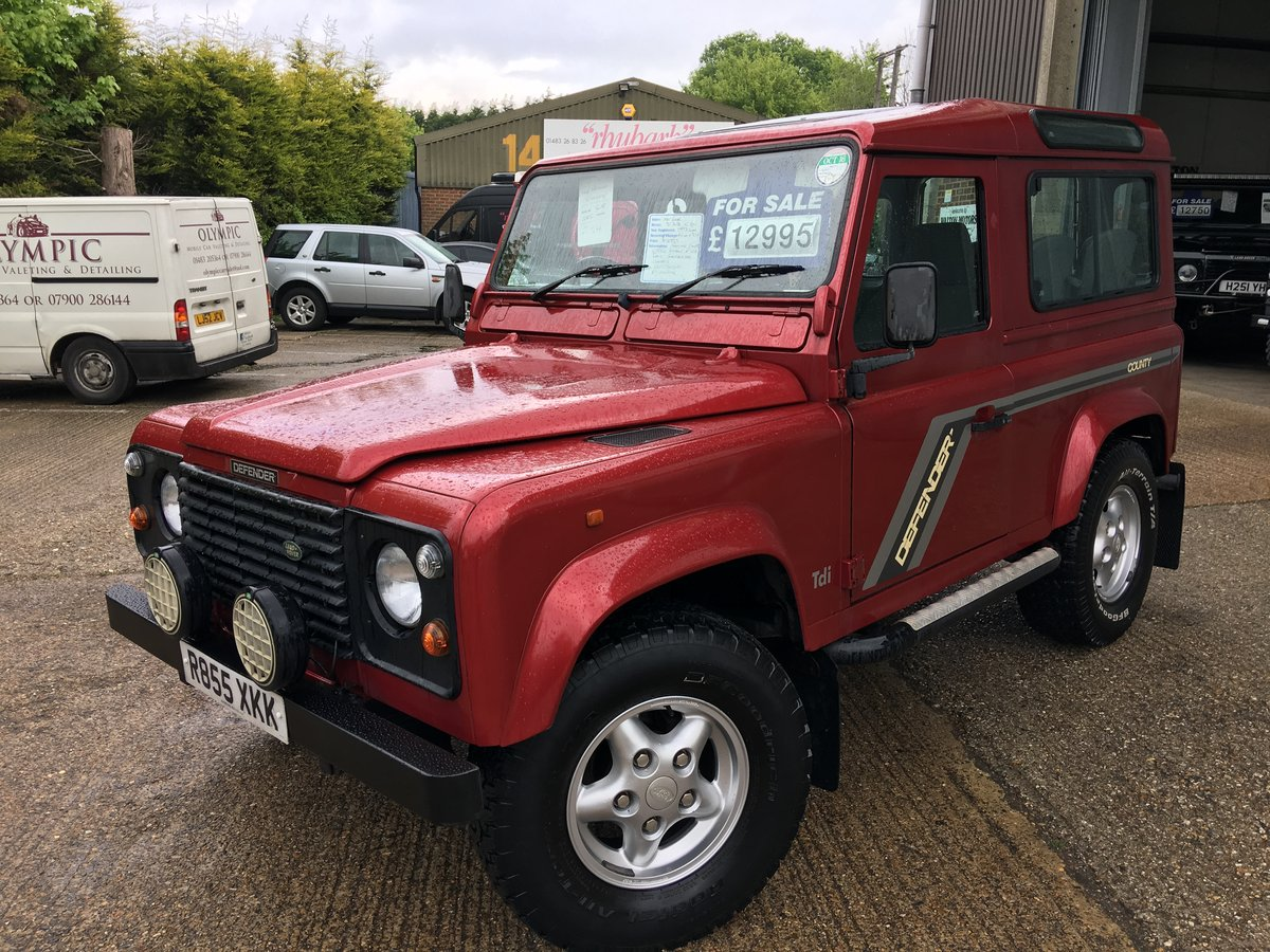 1997 land rover defender 300 tdi CSW GALVANISED CHASSIS For Sale (picture 2 of 6)