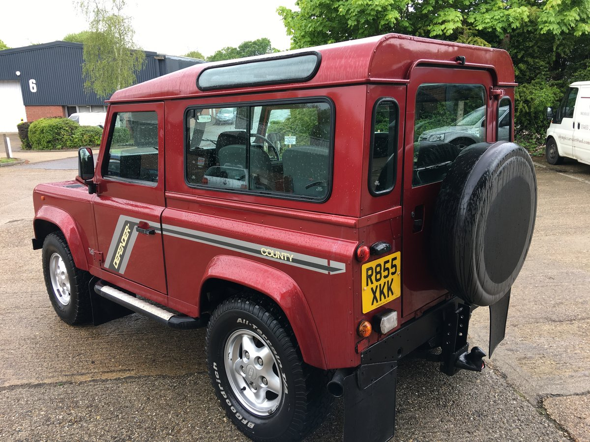 1997 land rover defender 300 tdi CSW GALVANISED CHASSIS For Sale (picture 3 of 6)