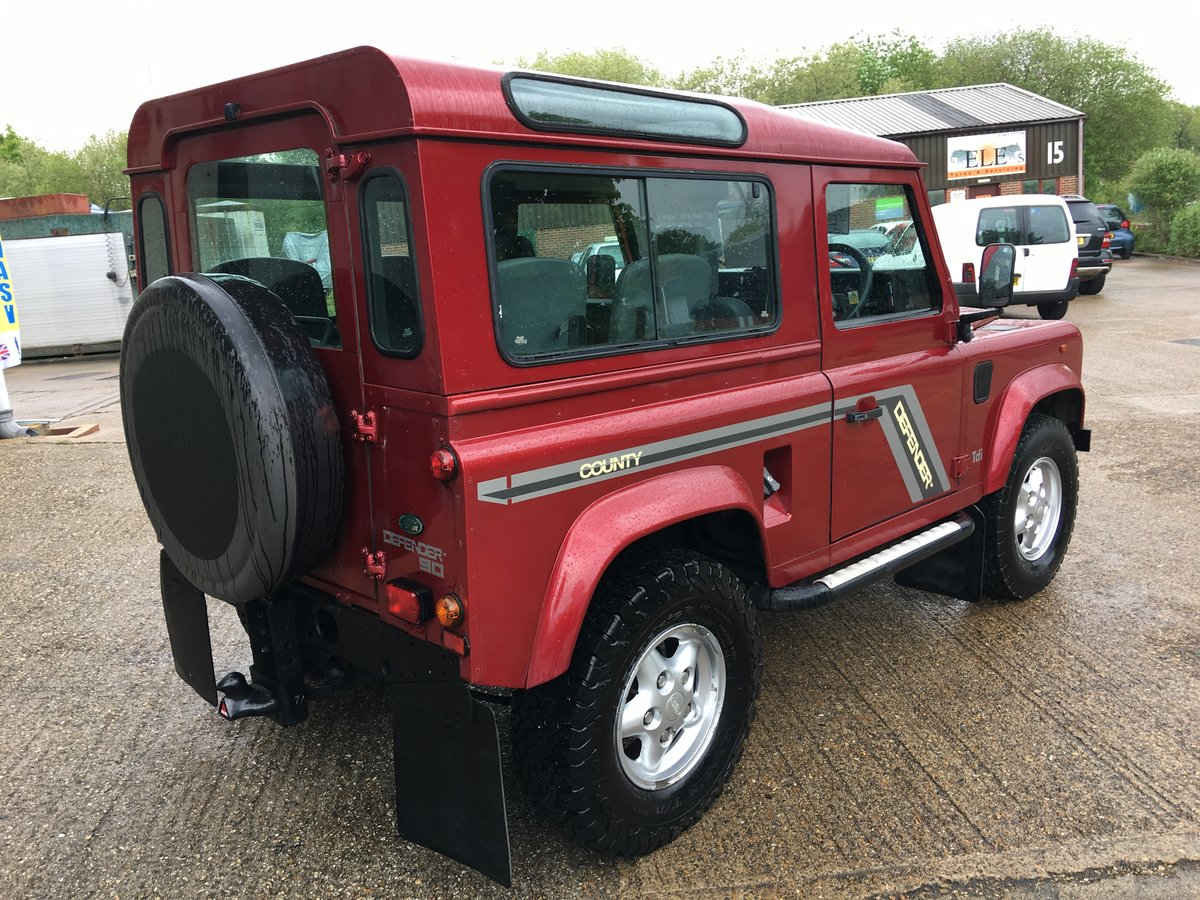 1997 land rover defender 300 tdi CSW GALVANISED CHASSIS For Sale (picture 4 of 6)