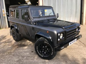 1995 land rover 90 300 tdi county in special matt grey  For Sale