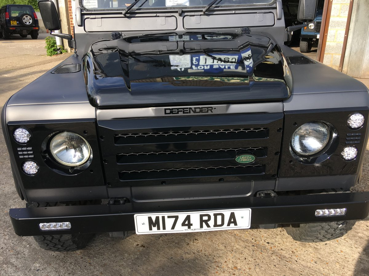1995 land rover 90 300 tdi county in special matt grey  For Sale (picture 5 of 6)
