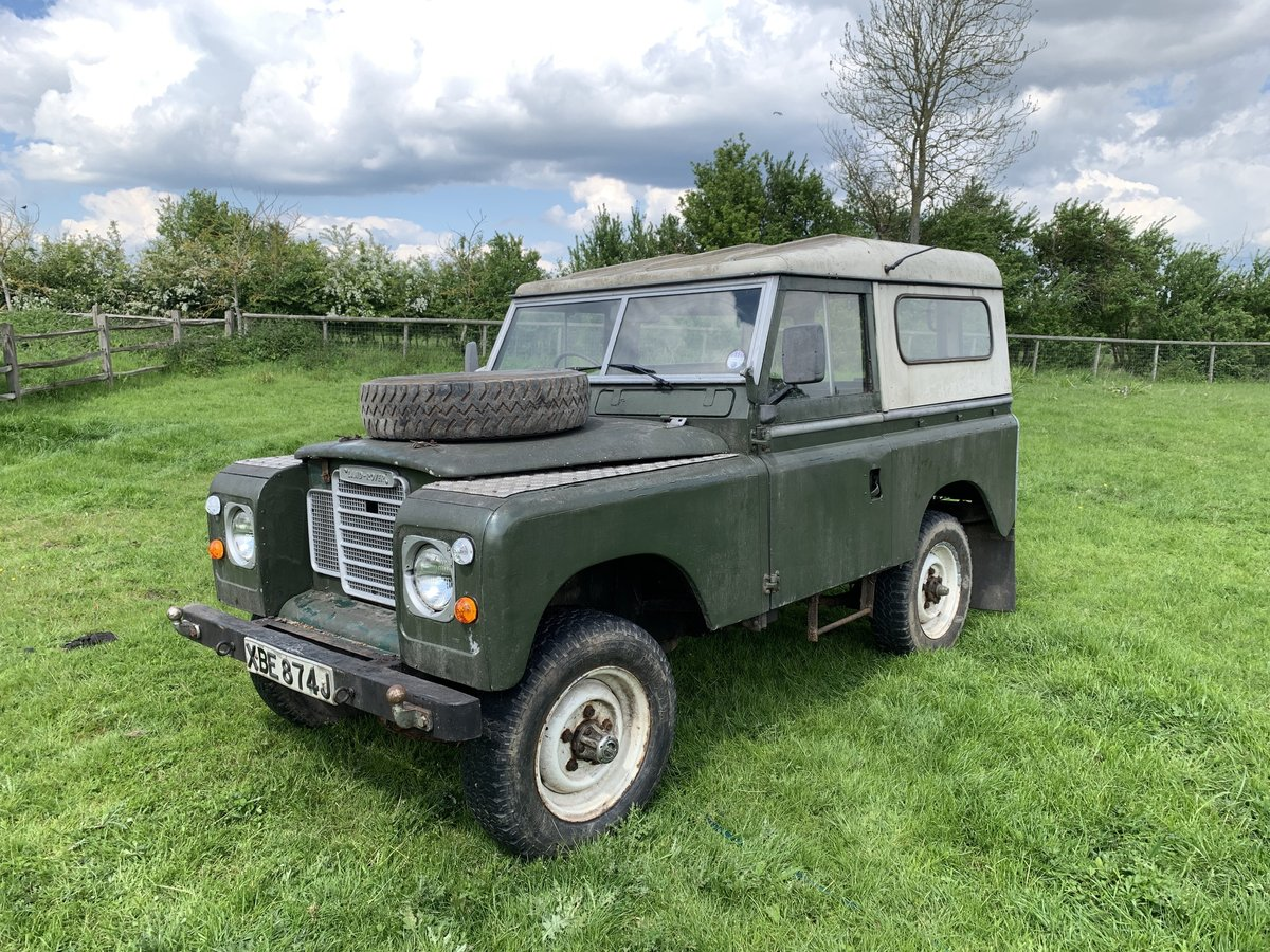 1971 Land Rover Series 2A (late model) For Sale (picture 1 of 6)